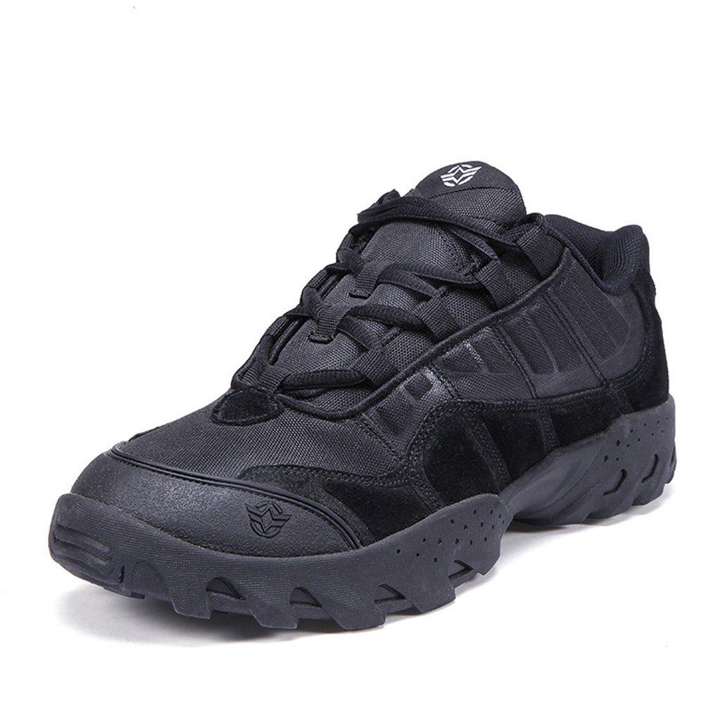 Emansmoer Herren Wasserdicht Atmungsaktiv Outdoor Sport Wandern Trekking Schuhe Niedrig-top Lace-up Non-slip Komfort Turnschuhe
