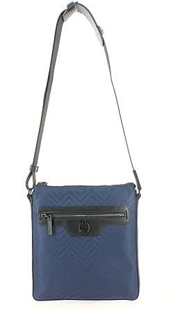 Bandoulière Chevron Versace Bleu Sac Jeans Linea 8vwNnm0