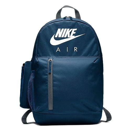 Nike Y NK ELMNTL BKPK-GFX, Mochila Unisex Infantil, Multicolor (Blufrc/