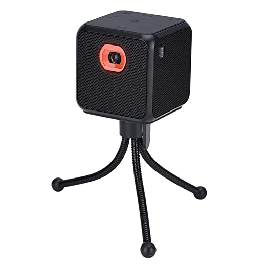 Amazon.com: Lazmin Mini DLP Micro Proyector, HD 2.4G WiFi ...