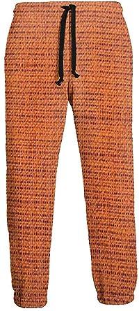 Sunny R Fondo Rojo Ladrillo Pantalones de Chándal para Hombre ...
