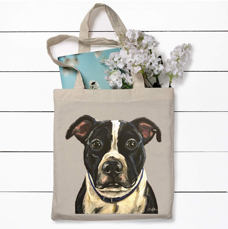 Pit Bull Tote Bag Pit Bull Lover Gift