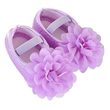c037a18a81332 Chaussures Bébé Binggong Enfant en bas âge Enfant Bébé Fille En Mousseline  De Soie Bande Élastique
