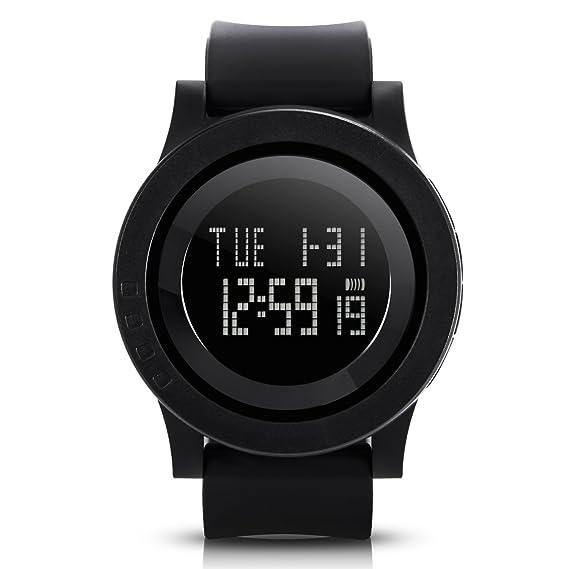 305883728db558 Hiwatch Orologi Sportivi da Polso Impermeabile Digitale di Sport con Grande  Quadrante Nero Casuale Orologio per Uomini e Donne: Amazon.it: Orologi