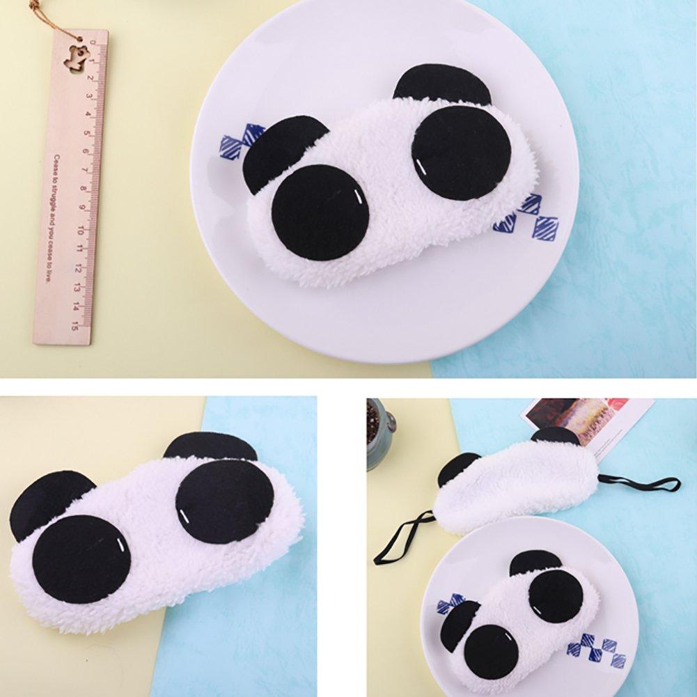 Xuxuou máscaras de sueño diseño de oso panda máscara noche máscara de los ojos sueño viaje máscara dulce máscara para los ojos, estilo 1, ...