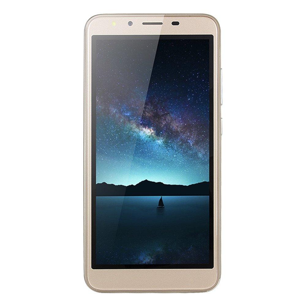 QYuan Mobile Phone Unlocked Dual 4G Smart Phone 5.5'' Ultra QHD Screen Display 512MB RAM+4GB ROM Octa-Core Processors Dual Camera Android6.0 (Gold) by QYuan
