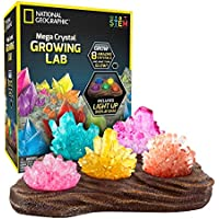 National Geographic Mega Crystal Growing Lab – 8 Colors...
