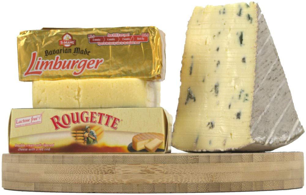 Handful of German Cheese by Gourmet-Food