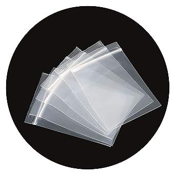 INTVN Bolsa de Plástico Transparente con Cierre - 3