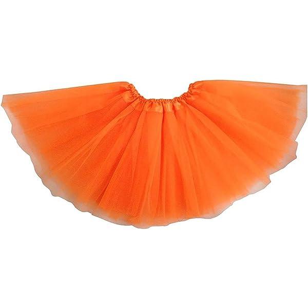 TOOGOO Vestido de ballet moderno de hadas de falda naranja: Amazon ...
