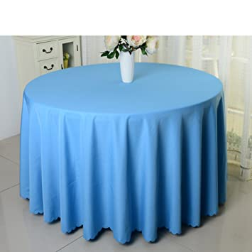 Hotel Tablecloth/Solid Color Round Tablecloth/ Table Cloth B  Diameter200cm(79inch)