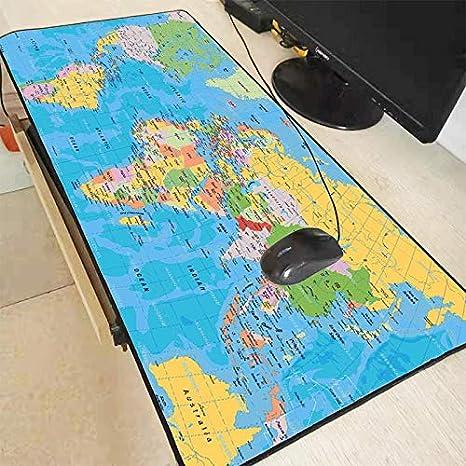 Mapa del Viejo Mundo Alfombrilla de Ratón Gaming Locking Edge ...