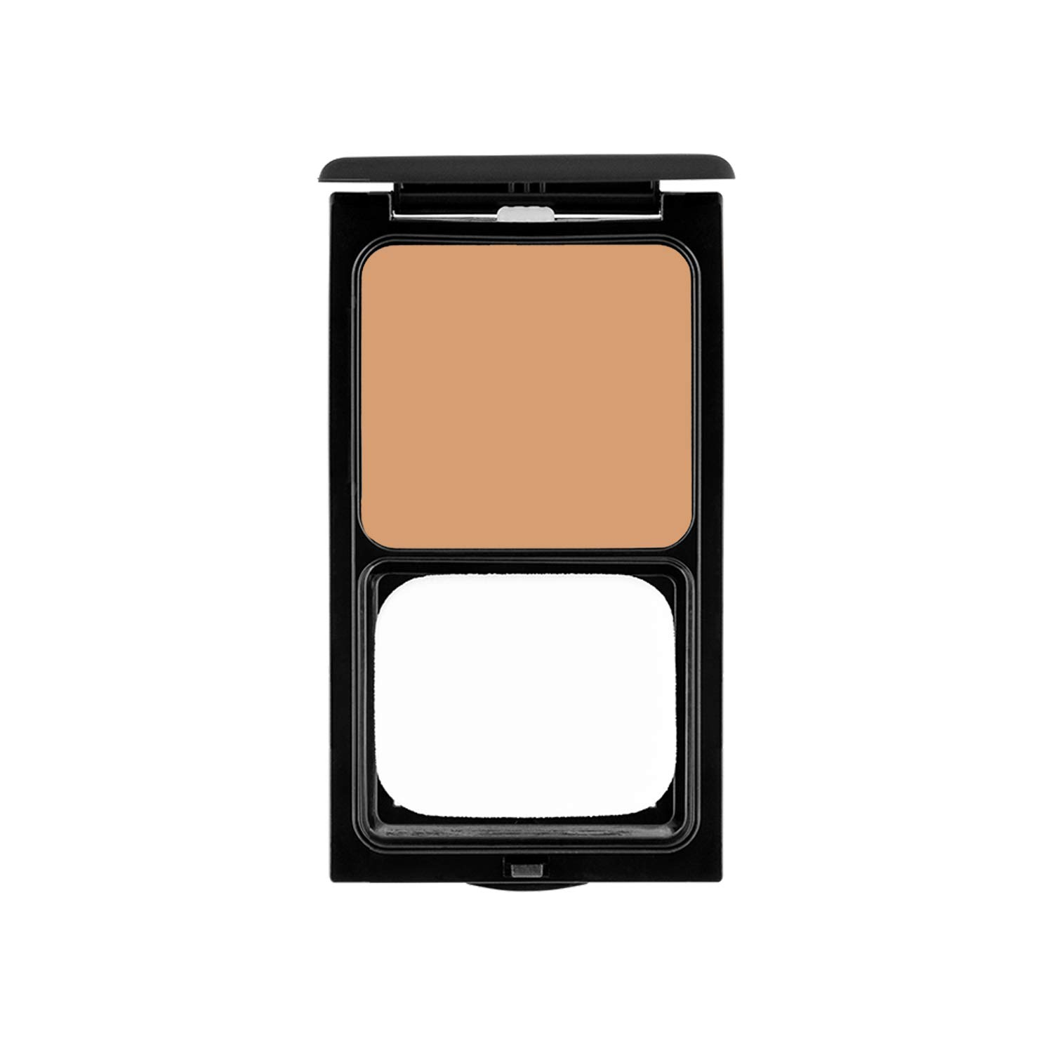 Cream to Powder Foundation Compact by Sacha Cosmetics, Best Natural Matte Makeup to give Flawless Looking Skin, Medium to Full Coverage, Normal to Oily Skin, 0.45 oz, Pure Beige