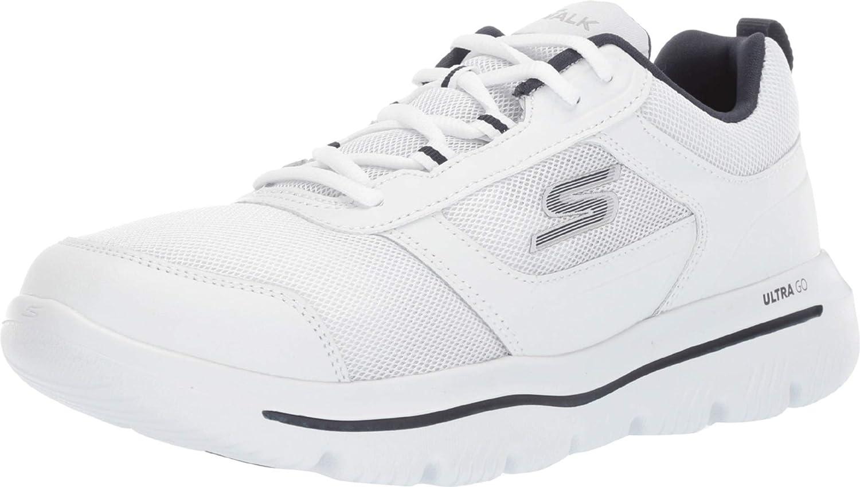 factor Ordenador portátil inoxidable  Skechers Men's Go Walk Evolution Sneaker: Amazon.co.uk: Shoes & Bags