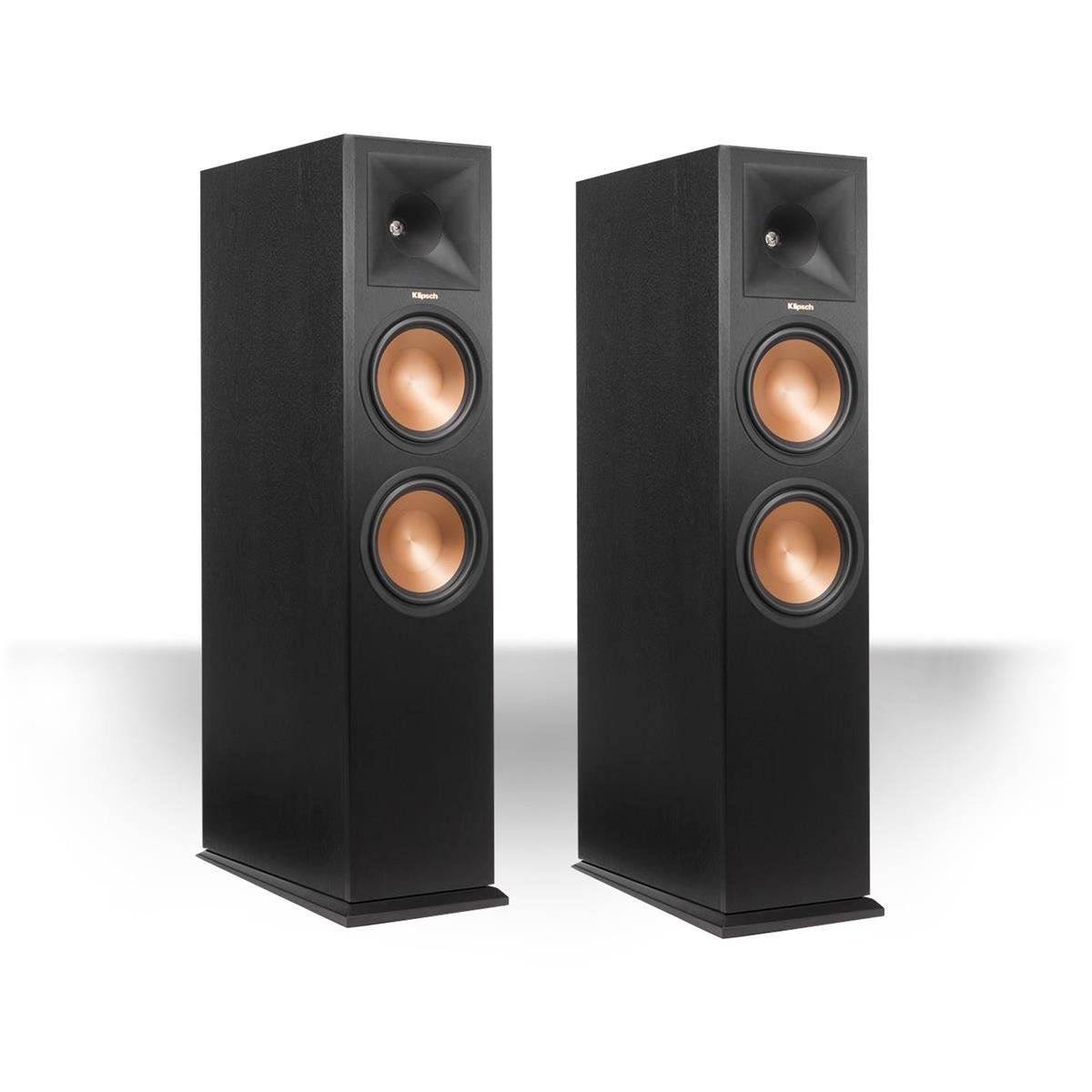 Klipsch RP280FA Tower Speaker w/ Dolby Atmos Height Channel (Black Pair) …