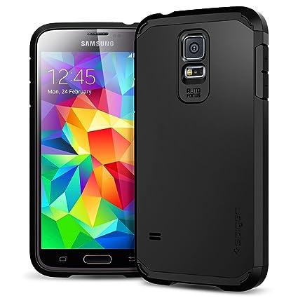 Amazon.com: Spigen - Carcasa rígida para Samsung Galaxy S5 ...