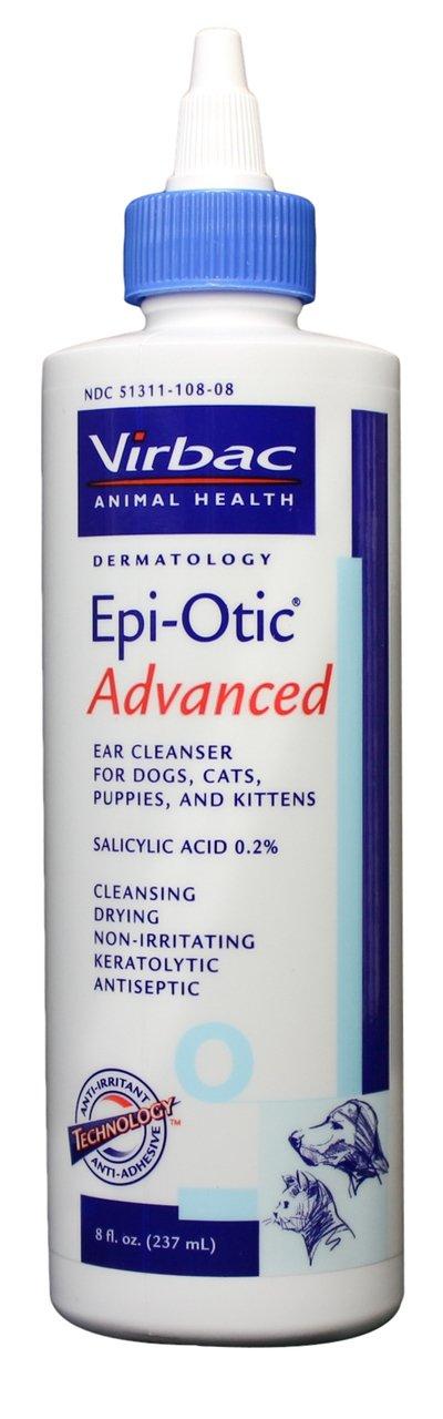 Virbac Epi-Otic Ear Cleaner, 8 oz