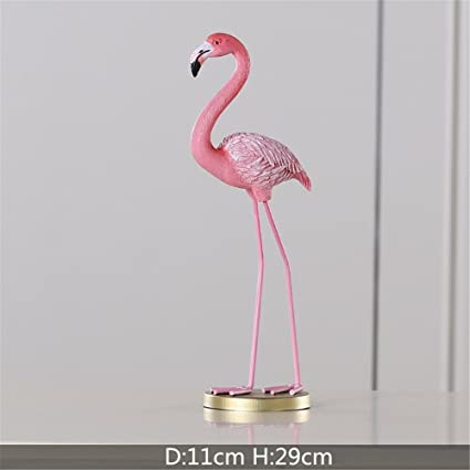 Amazon 1 Piece Of Resin Pink Flamingo Home Decor Illustration