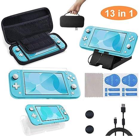 13 en 1 Kit de Accesorios para Nintendo Switch Lite, OFUN Funda ...