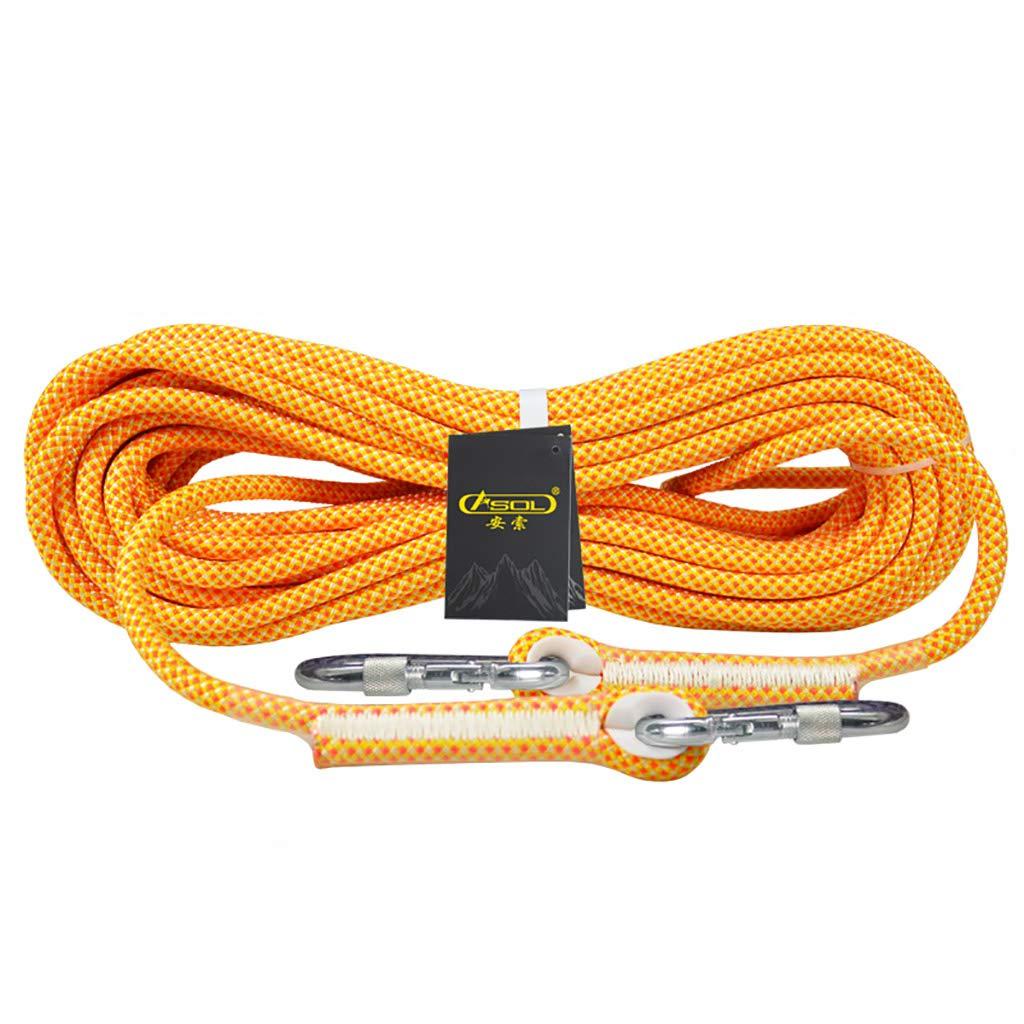 KTYXDE Corde de Descente pour Corde d'escalade équipement d'escalade diamètre 10,5 12 mm Corde d'escalade (Taille   10.5MM 20M) 12MM 50M