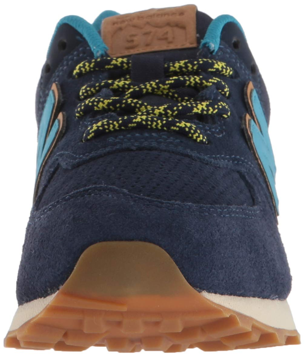 New Balance Boys' Iconic 574 Sneaker Pigment/Cadet 10 M US Toddler by New Balance (Image #4)