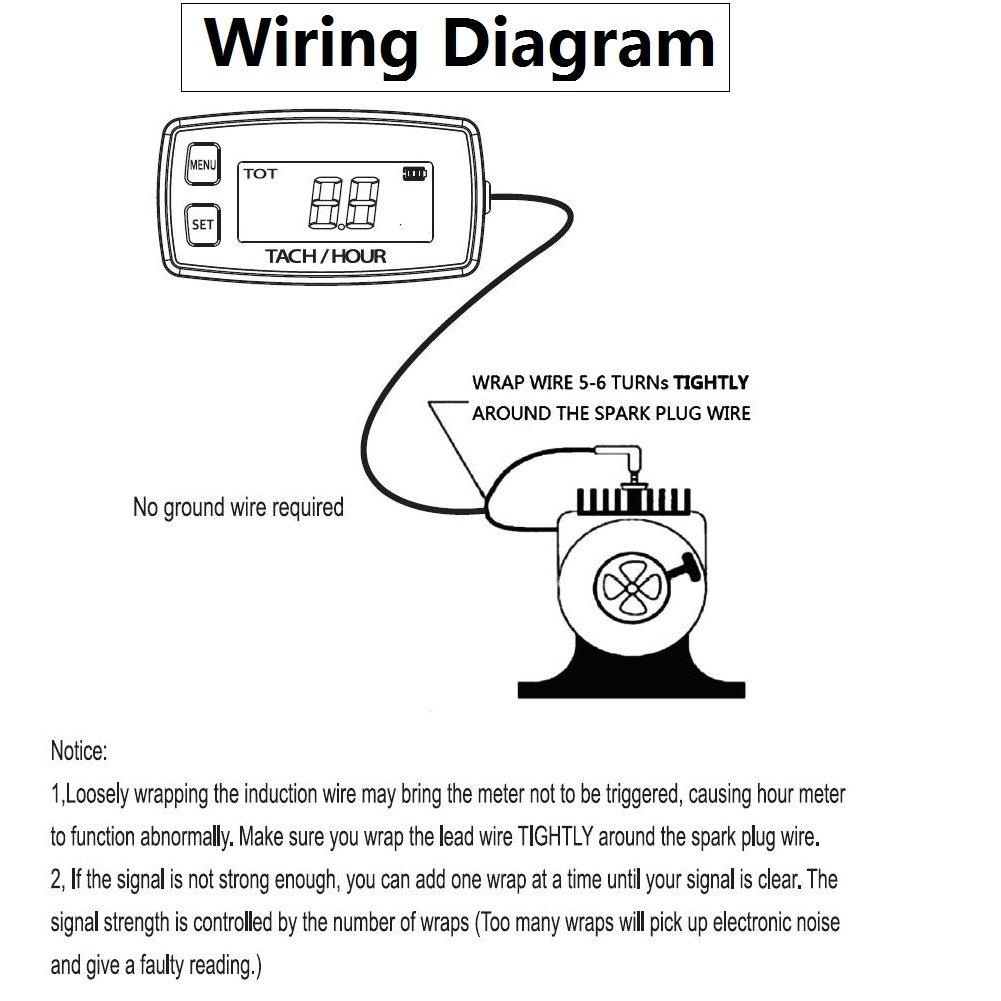 Hour Meter Engine Wiring Diagram Installation On Hook Up