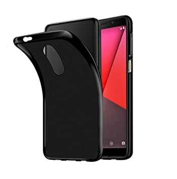 official photos ec58a 13c87 Vodafone Smart N9 Case, AVIDET Shock-Absorption, Anti-Scratch Soft Gel TPU  Silicone Case Cover for Vodafone Smart N9 5.5