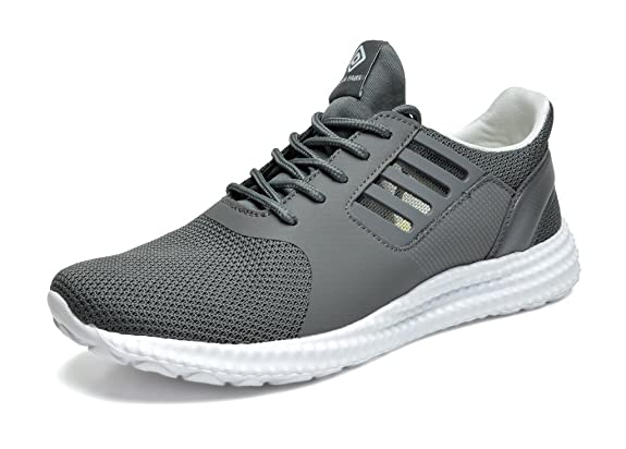 Shoes Mens Casual Shoes Outdoor Exercise Sneakers Low-Top Lace-up Shoes Running Shoes (Color : Black Size : 39)