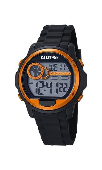 Calypso Hombre-Reloj de Cuarzo Digital plástico K5667/4: Amazon.es: Relojes
