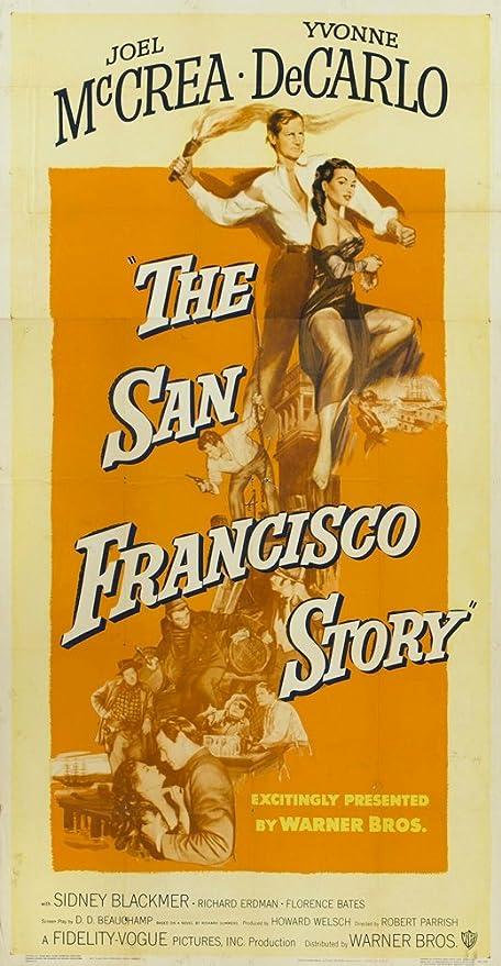 El San Francisco Story Póster De película 20 x 40 en - 51 cm ...