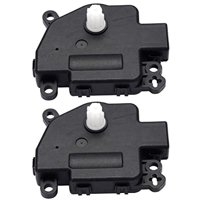 604-045 HVAC Air-conditioner Heater Blend Door Actuator 2 PCS Air Door Actuator for 2011-2013 Dodge Durango 2011-2013 Jeep Grand Cherokee: Automotive