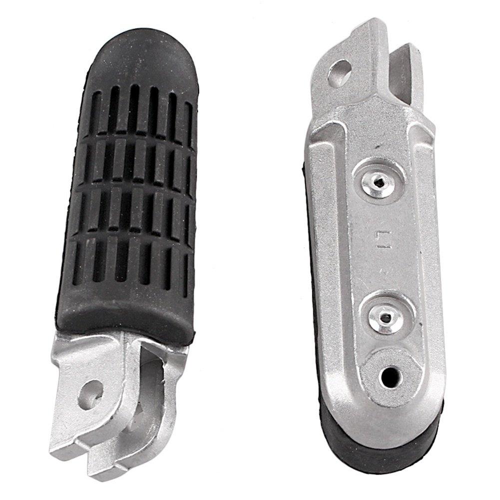 GZYF Front Footrests Foot pegs for Honda CB400 CB600 CB750 CB1000 CB1100 CBR1100XX