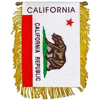 313b50f2db902 Amazon.com : California State Flag Mini Banner 3