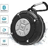 Unitify Altoparlante Bluetooth IPX7 Waterproof Cassa Bluetooth Waterproof con Ventose, Microfono, Altoparlante Vivavoce…