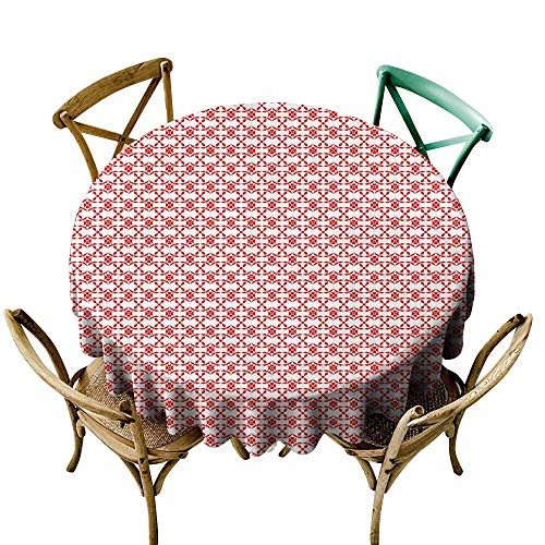 (SKDSArts Tablecloths Seamless Floral pattern111 D36,Rectangle Tablecloth Dinner Picnic)