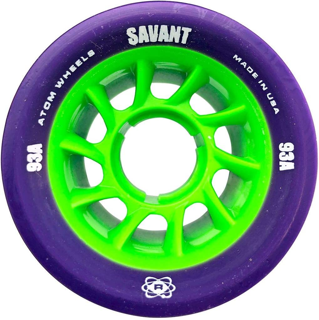 62mmx40mm Atom Quad Wheels Savant