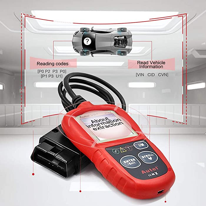 Autel Autolink Al319 is one of the best engine code readers.