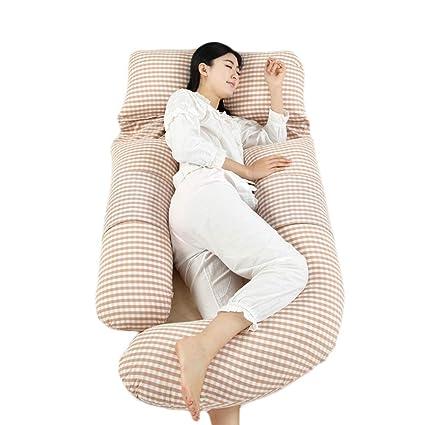 Almohada de embarazo Cojín de apoyo en forma de almohada ...