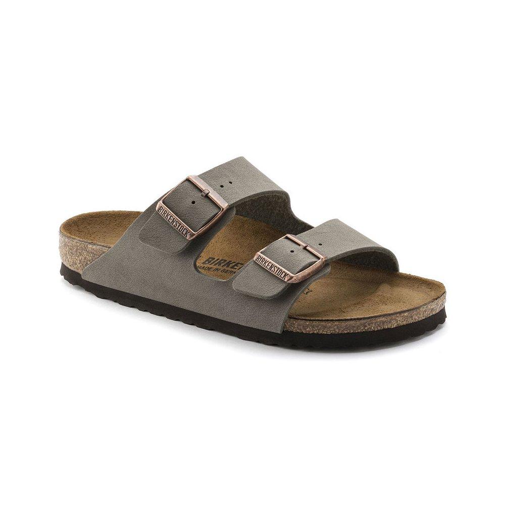 Birkenstock Unisex Arizona Stone Birkibuc Sandals - 12-12.5 2A(N) US Men by Birkenstock