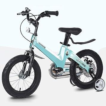 M-YN Bicicleta Niños con Ruedines 16 Pulgadas de la Bicicleta del ...