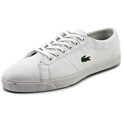 0c288058a6971 Amazon.com | Lacoste Marcel LCR SPJ Youth US 6 White Sneakers UK 5 ...