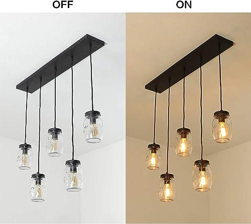 XIPUDA Linear Pendant Light
