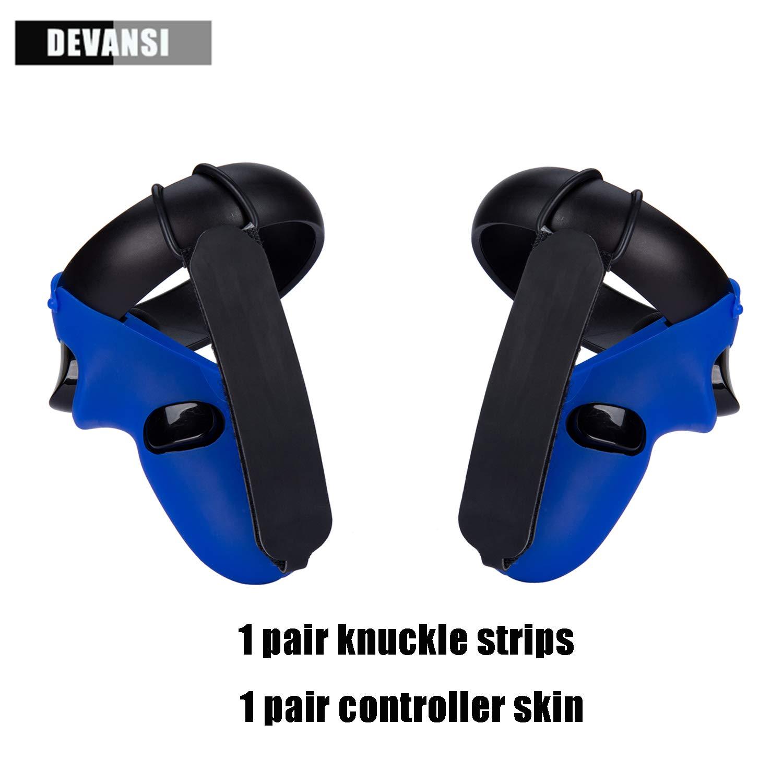 Knuckle Strap /& Controller Grip Skin for Oculus Quest//Oculus Rift S VR Headset