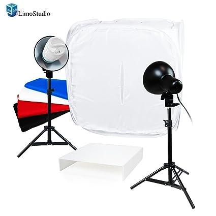 amazon com limostudio table top photo studio light tent kit