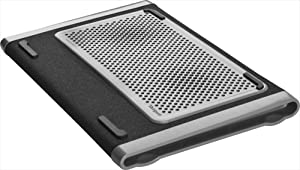 Targus Dual Fan Chill Mat for Laptop up to 15.6 Inches, Gray/Black (AWE79US)
