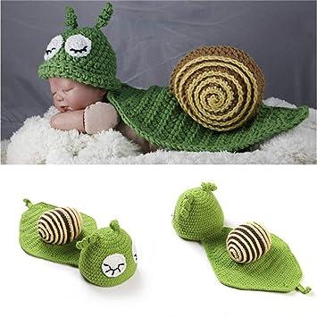 Disfraz de bebé fotografía cian caracol modelado lindo divertido ...