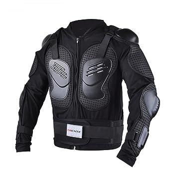 AKAUFENG Motorrad Protektorenjacke Protektorenhemd Motorrad S-5XL MTB Protektoren Schutzkleidung Schutzjacke