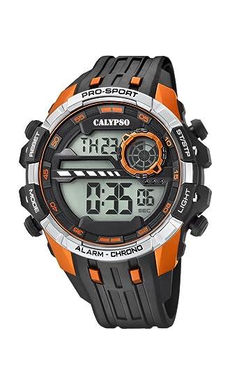 4fbbe08b9df0 Calypso Reloj Digital para Hombre de Cuarzo con Correa en Plástico K5729 2   Calypso  Amazon.es  Relojes