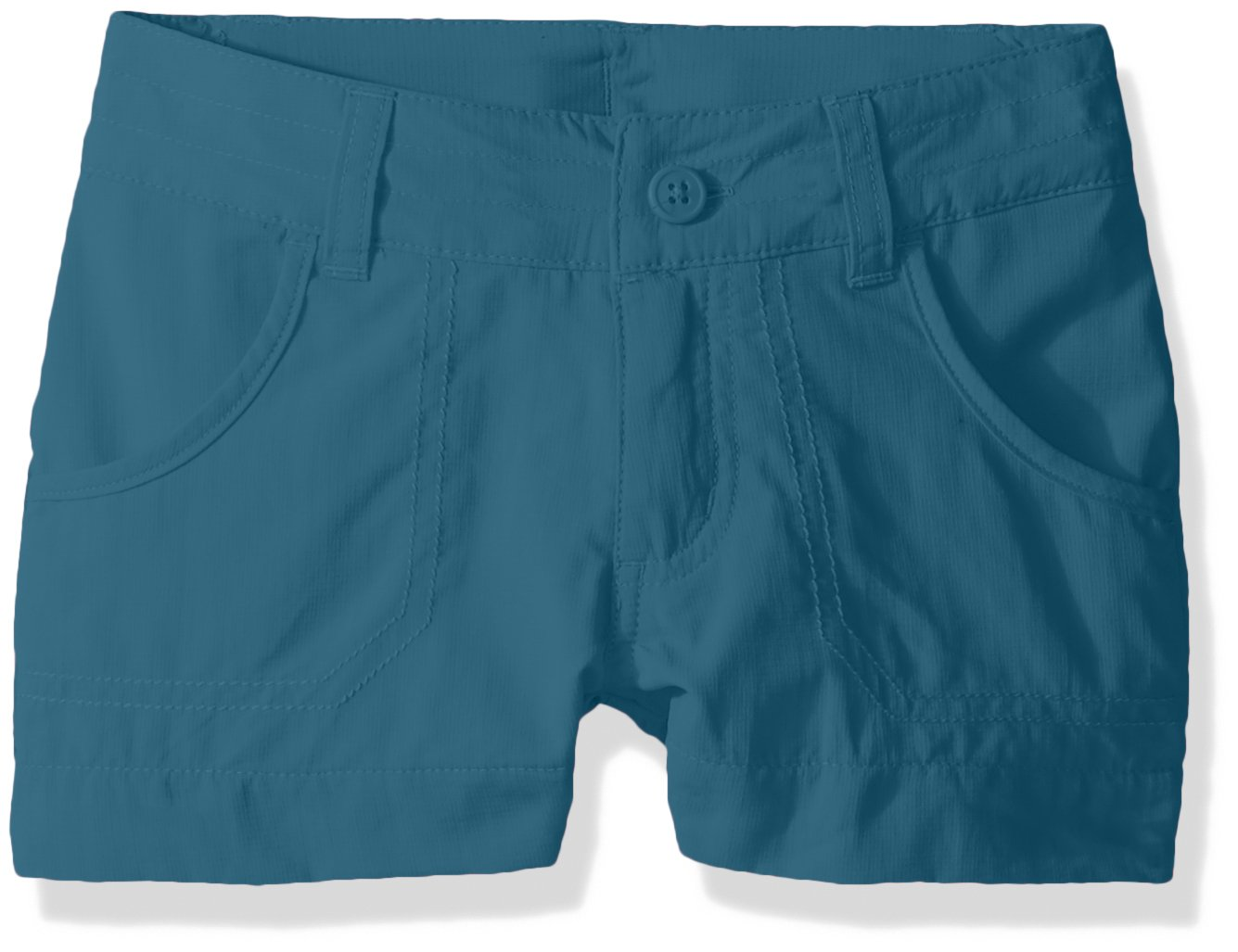Columbia Girls Silver Ridge III Shorts, Aegean Blue, X-Small by Columbia