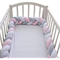 Crib Bumper Wrap Around Protection 100/% Cotton Crib Bumpers Bedding-130x30cm Color : #9 Yezi Bumpers Baby Cot Bumper